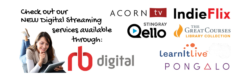 Click here for our new RB Digital Streaming Services