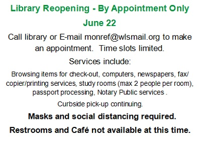 June 22 Reopening